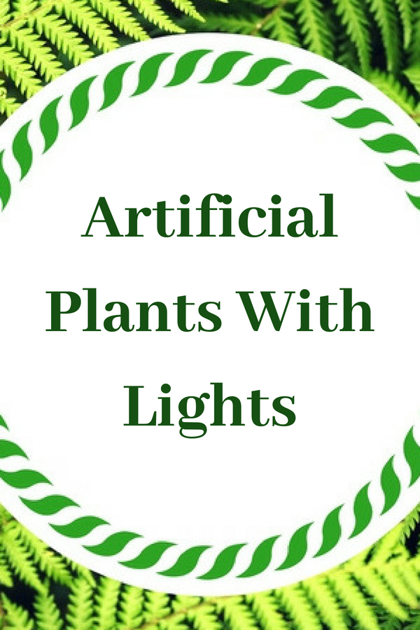 Artificial Plants With Lights